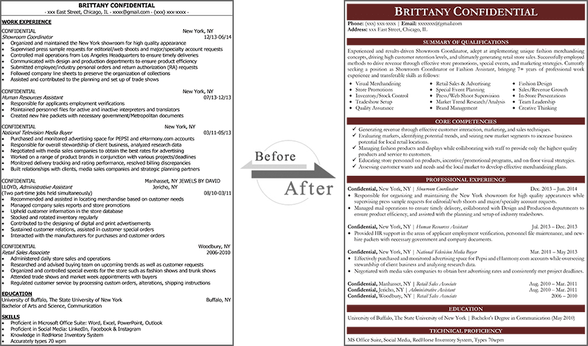 guaranteed resume services