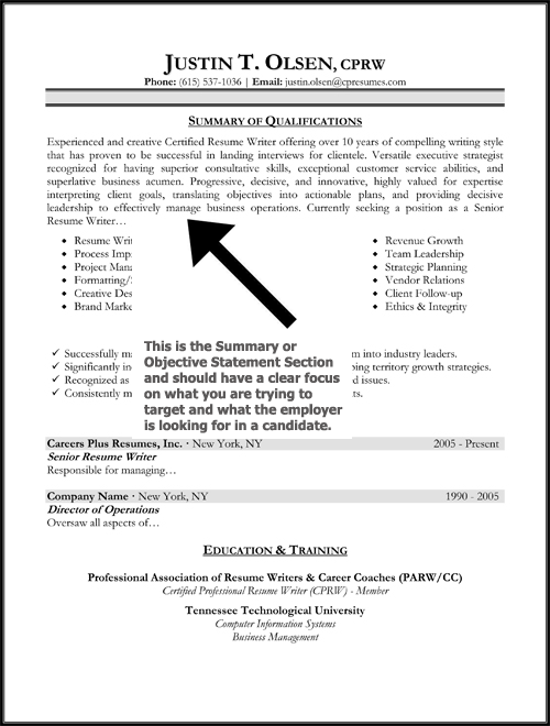 Resume Objectives Statements Examples. Objective Statement Resume ...