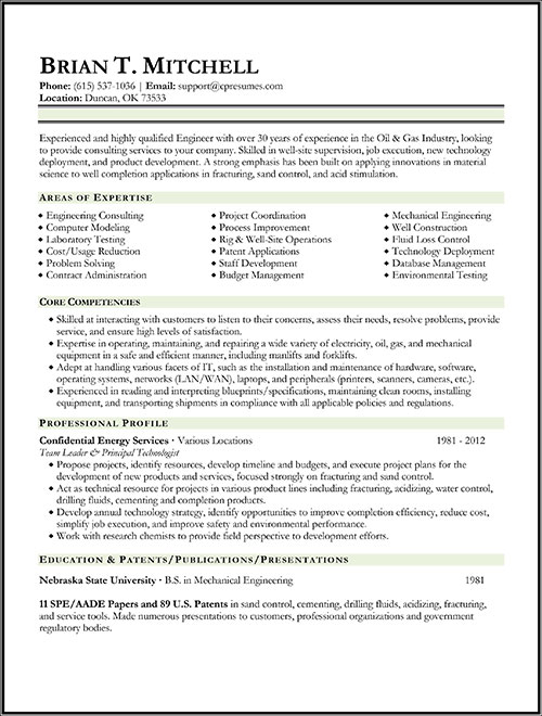 Resume Samples Types Of Resume Formats Examples Amp Templates
